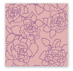 Vinci Decor - 9805 Пурпурные розы